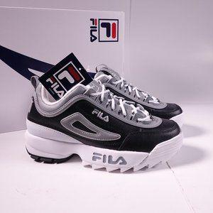 FILA Disruptor II Shoes 3FM00702-003 Black